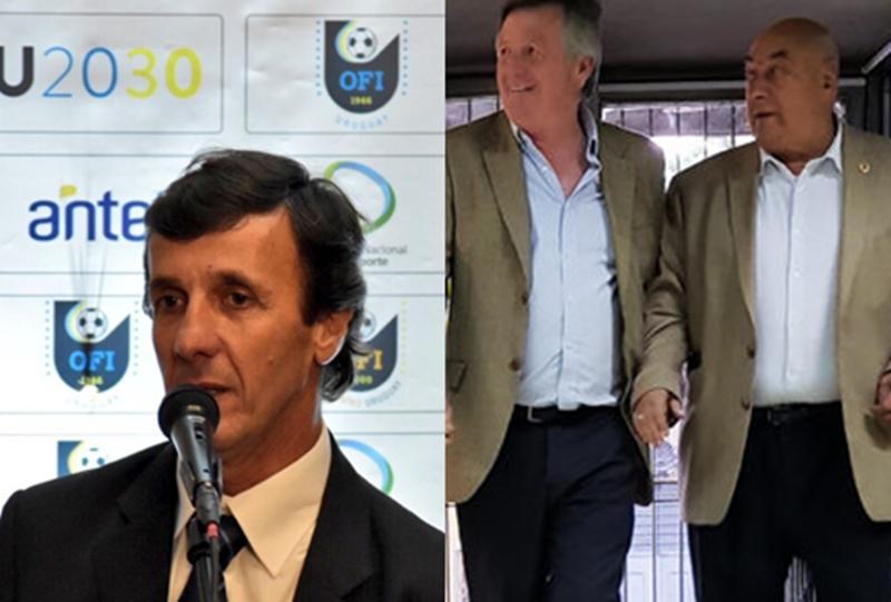"""""""No somos el ombligo del mundo"""", dijo el directivo de Torque en la Asamblea de la AUF, cuando no se le dio pelota a la OFI, por cuarta vez, con la firma del Estatuto FIFA"""