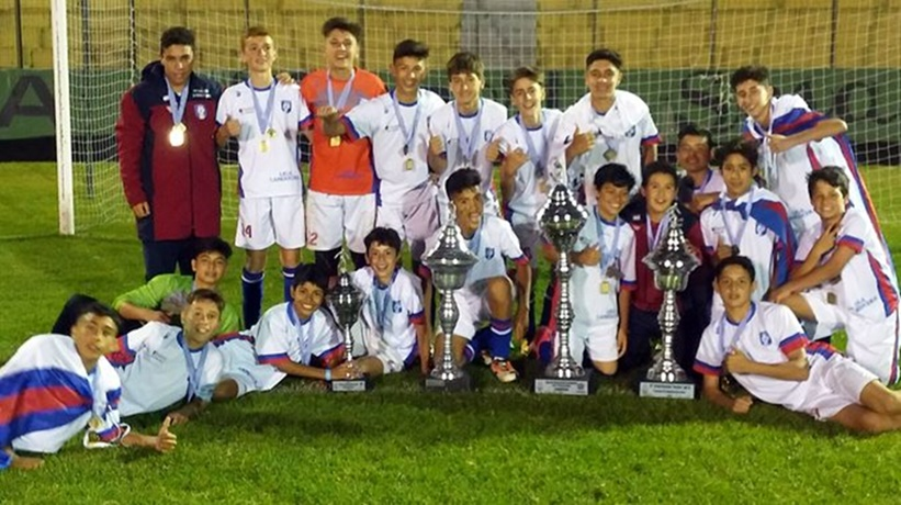 Los gurises de Paysandú de la selección Sub 13 se entreveran entre los 4 mejores de la Fiesta de la Conmebol
