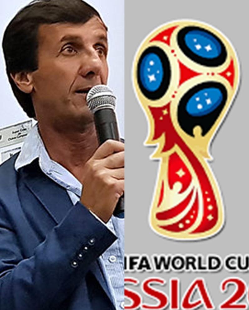 """Gustavo Bares y su idioma ruso:""""Es importante para el fútbol del Interior, para OFI. Y así lo entendimos con Valdez cuando me llamó para comunicarme la noticia"""""""
