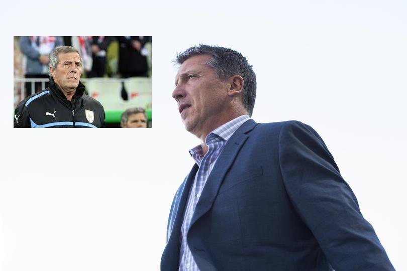 NINGUNEADO: Robert Siboldi lo dejó todo. Creyó en el actual entrenador de la selección de Uruguay y ese compromiso, Tabárez nunca lo cumplió