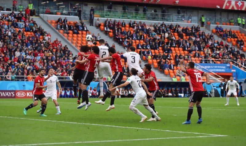 Desde Rusia con el gol de Josema Giménez ante Egipto