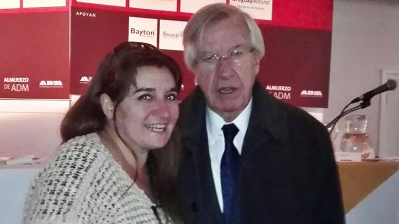 Diario Uruguay fue el comensal crítico del Ministro de Economía y Finanzas, Cr. Danilo Astori, en el clásico almuerzo de ADM