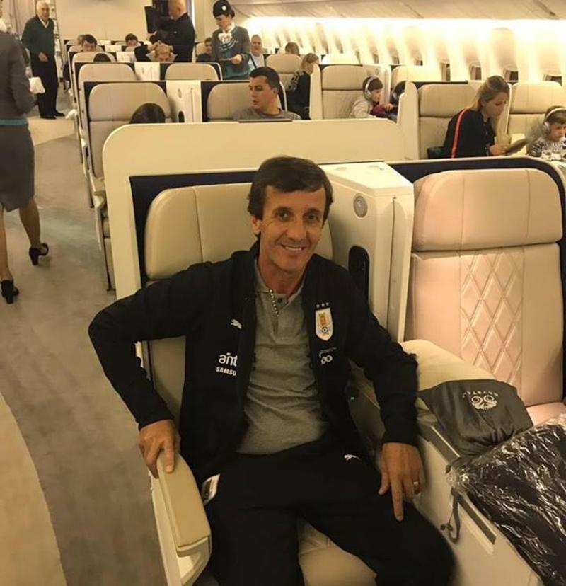 Gustavo Bares, es el primer presidente de la historia de la OFI, que ha traicionado al fútbol que preside, aceptando una invitación de la AUF para ir a Rusia