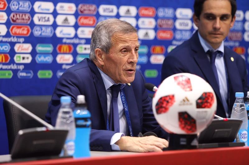 Audio y vídeo de la conferencia de prensa de Oscar Tabárez luego de Portugal 2-1