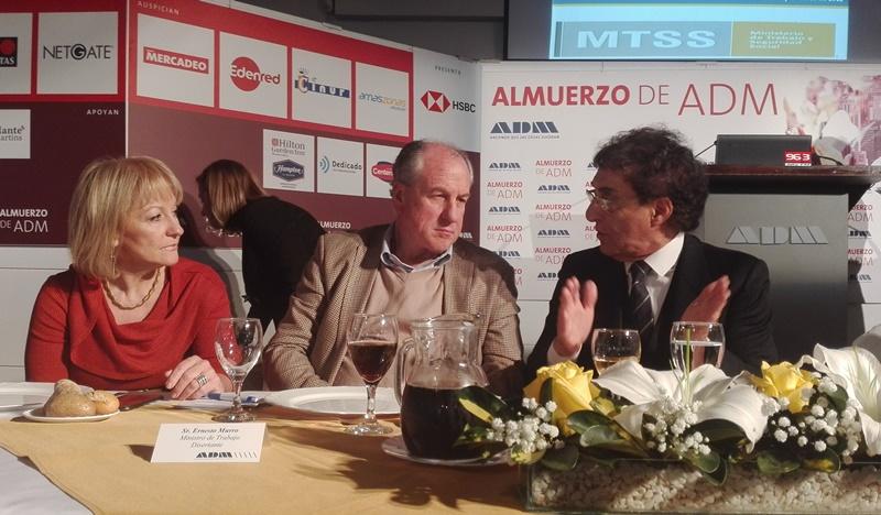 A 20 meses de finalizar este período de gobierno: En ADM, Diario Uruguay escuchó al Ministro Murro, que disertó sobre «problemas y soluciones»