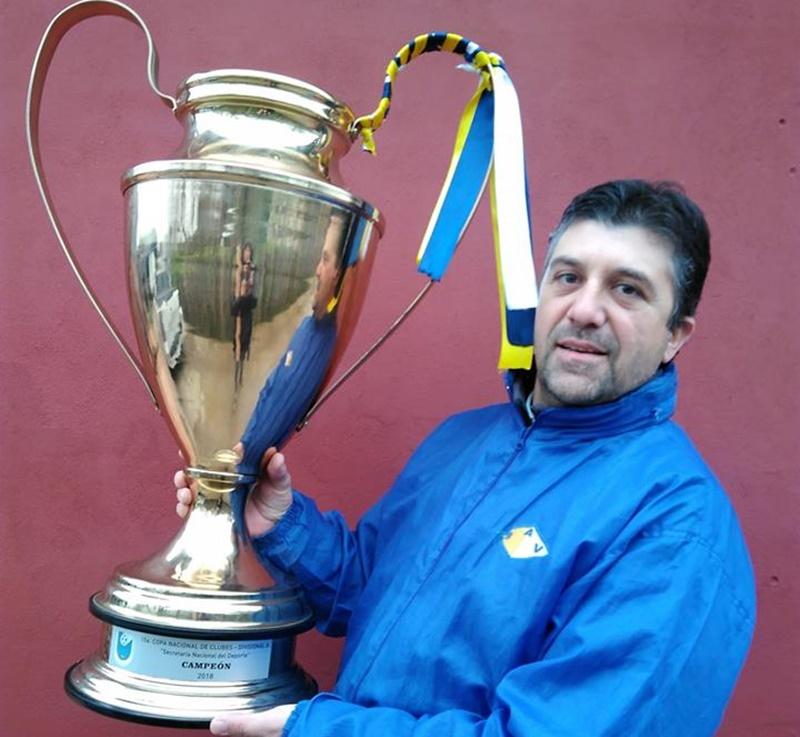 El presidente del campeón de clubes de OFI, Bella Vista de Paysandú quedó copado con la televisación de Tenfield