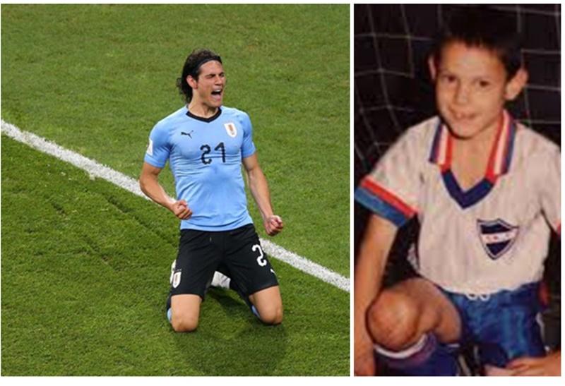 Los orígenes del delantero del París Saint-Germain y la Selección uruguaya