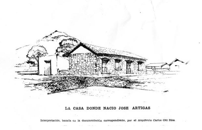 """Conocé de una vez por todas: """"El ambiente hogareño donde nació José Artigas"""""""