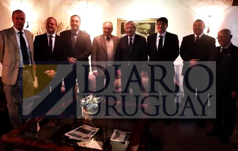 AHORA Diario Uruguay, el único medio de prensa que entró a la previa del almuerzo del Cr. Danilo Astori con la ARU
