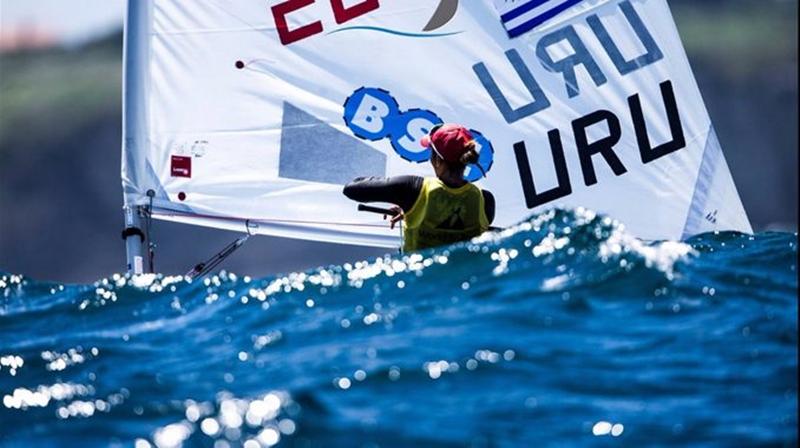 La sanducera Dolores Moreira, es la nueva campeona de Laser Radial en la Enoshima Olympic Week
