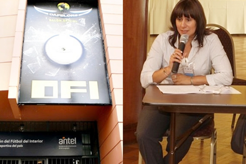 """(Audio) Precipitada y espectacular la asesora jurídica de la OFI, Dra. Andrea Valiente:""""La FIFA conoce y tiene mucho más claro la situación del fútbol uruguayo, que mucha gente que vive en la capital"""""""