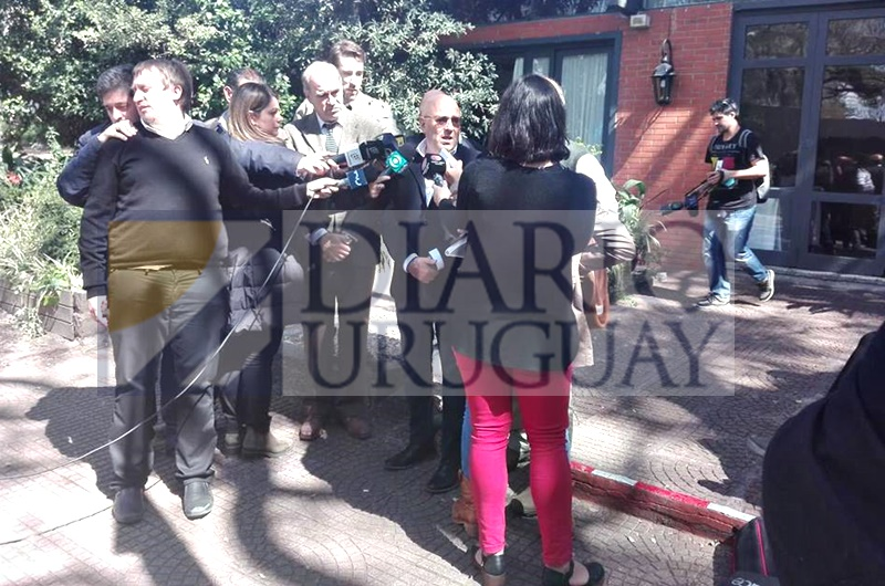 El líder del Partido de la Gente, Edgardo Novick, con Diario Uruguay en la Expo Prado 2018