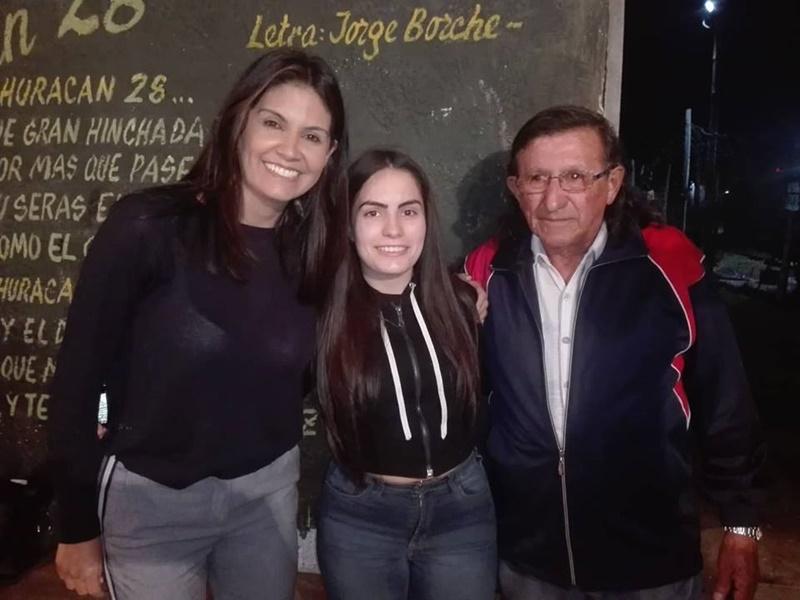 Dio el timbrazo en Barros Blancos para presentar a sus candidatos, y Verónica Alonso se topó con Diario Uruguay