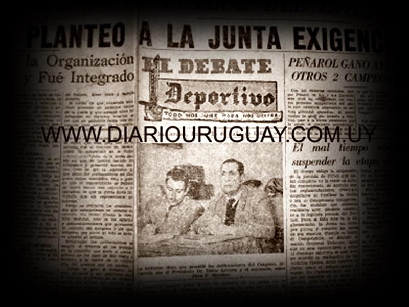 """""""La AUF, ha tratado al fútbol del interior como al hermano pobre"""". Editorial del diario La Razón de Montevideo, julio de 1946"""