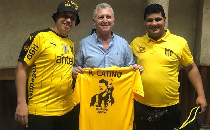 """El vicepresidente de Peñarol de Montevideo, reconoció en el Litoral que la situación que atraviesa el fútbol uruguayo """"es una tristeza enorme"""""""