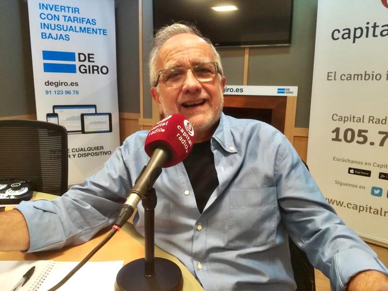 El periodista español Juan Tortosa, autor de 'Periodistas: el arte de molestar al poder'