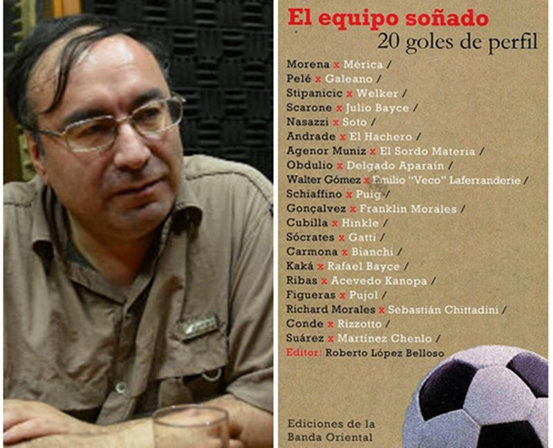 """El periodista y escritor Roberto López Belloso presentó su nuevo libro y consultado por su perfil favorito:""""El uno es el de Morena por Mérica, sin duda. Ese es el perfil superlativo""""."""