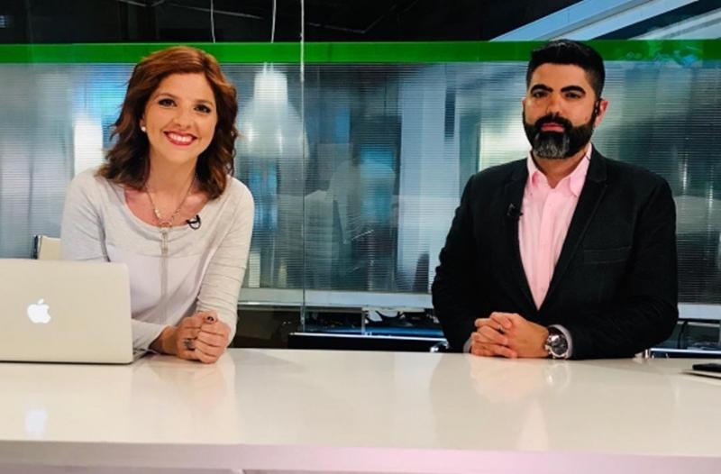 """""""¿Cómo andás de la cagalera?"""". Divina televisión nacional tenemos en Uruguay, donde un informativista le pregunta a su compañera al aire, sobre su diarrea"""