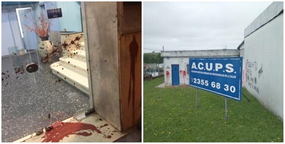 El diputado uruguayo evangelista, Gerardo Amarilla, denunció y exige que se investiguen los atentados contra locales de templos evangélicos y organizaciones de Uruguay