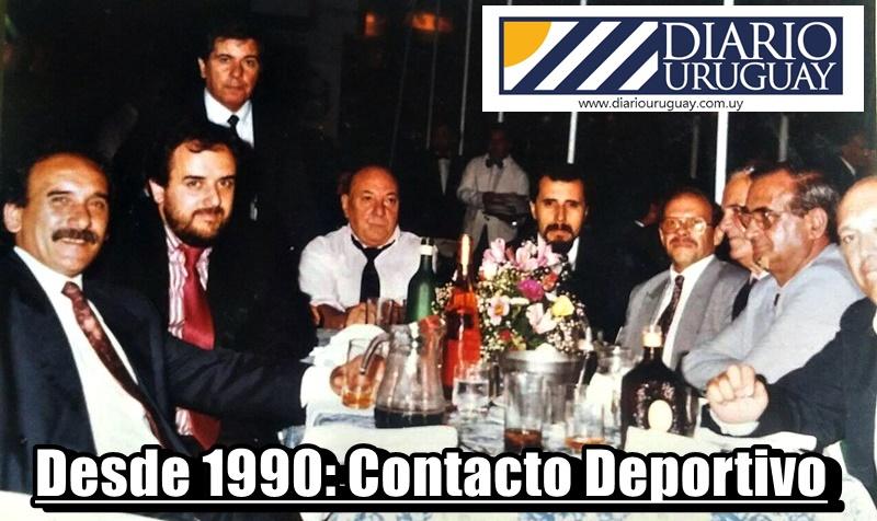 (Audio) Ahora en internet nace otra historia: Aunque desde 1990, hay un señor «Contacto Deportivo» en el dial de Uruguay