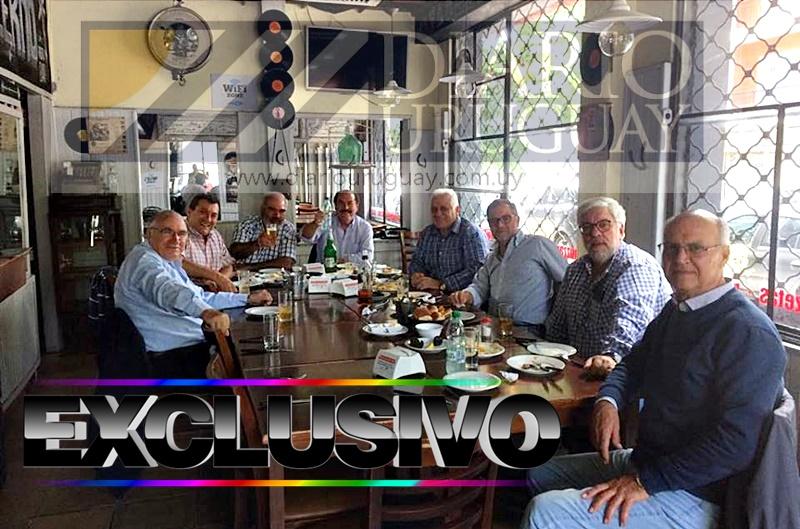(Audios) Los exdirigentes de la OFI ahora tienen otro orgullo, ingresar a la AUF y comportarse como tales: se reunieron para festejar y decidir el futuro en Montevideo