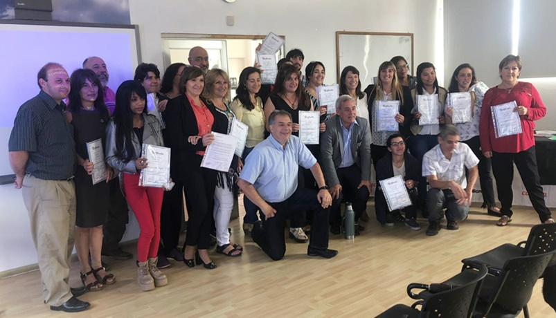 (Audio) EL SABER NO OCUPA LUGAR: INEFOP finaliza sus cursos 2018, entregando más de 300 certificados en Canelones