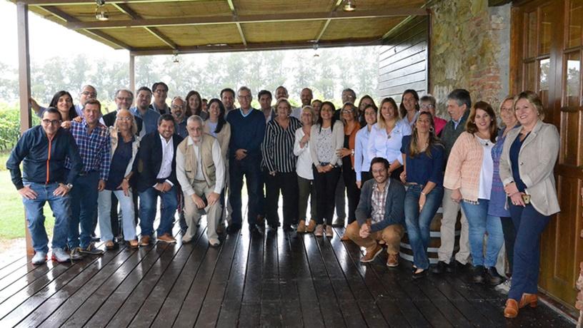 Canelones recibió a los directores de Turismo de Uruguay