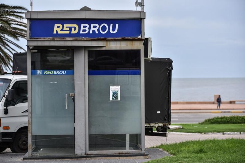 El BROU comunica: Se repuso 16 de los 18 cajeros dañados por acciones delictivas en el interior del país