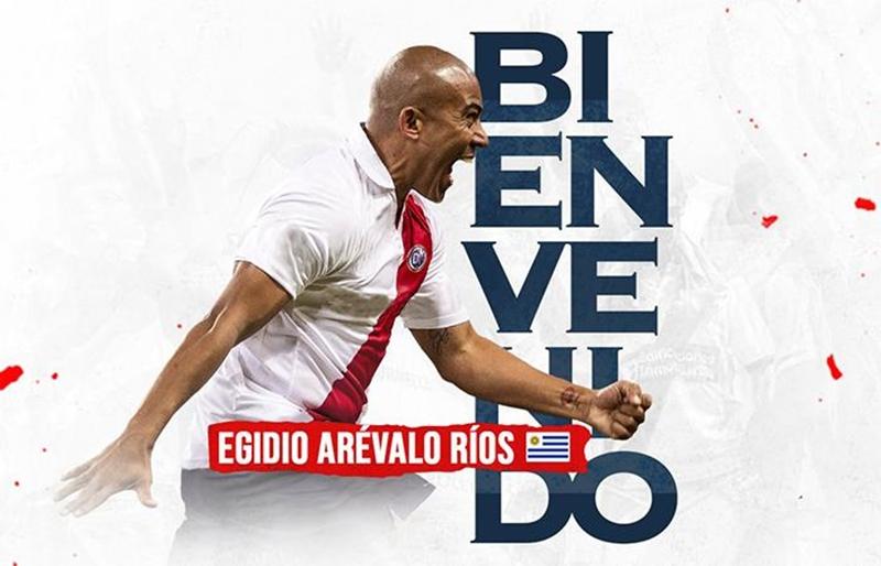 Egidio Arévalo Ríos, es nuevo jugador de Deportivo Municipal de Perú