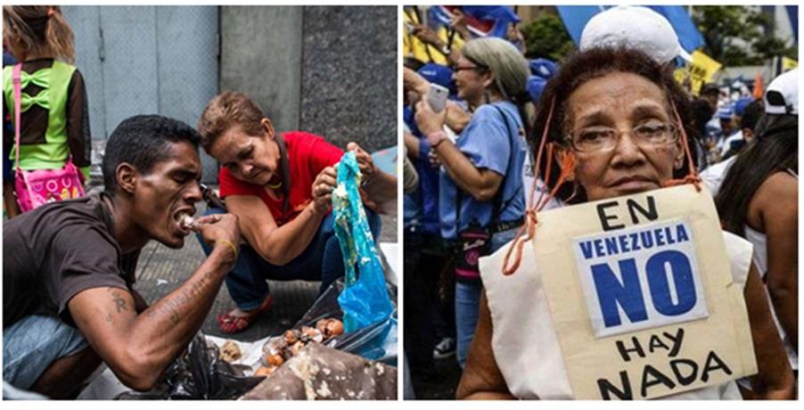 """Los efectos de lo que en su momento se llamó el «socialismo del siglo 21"""" han sido devastadores, horribles para la gente de Venezuela»"""