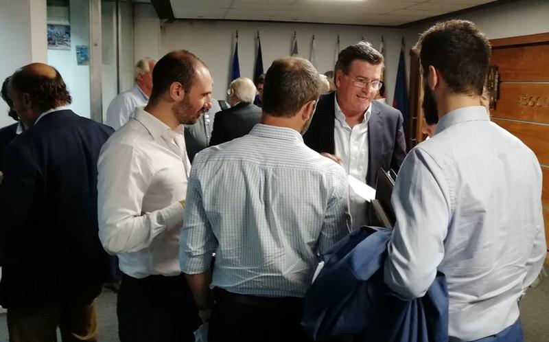 (Audio) Superimperdible el presidente de la OFI, tras el Congreso de la AUF