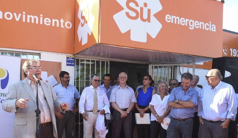 Vecinos de Barros Blancos contarán con cobertura de urgencia y emergencia nocturna en base de salida de Su Emergencia