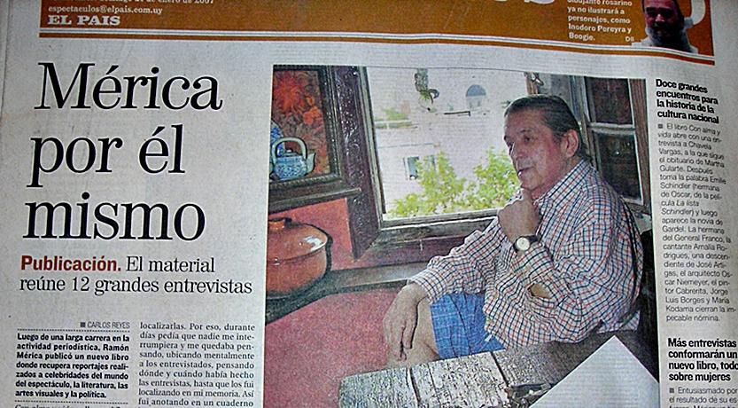 «El secreto» de Ramón Mérica para entrevistar