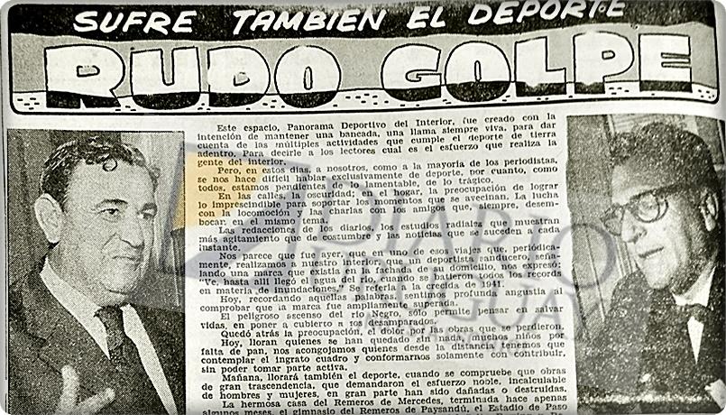 Isidro Záccara, el testigo perfecto de los conflictos casi permanentes entre la AUF y la OFI