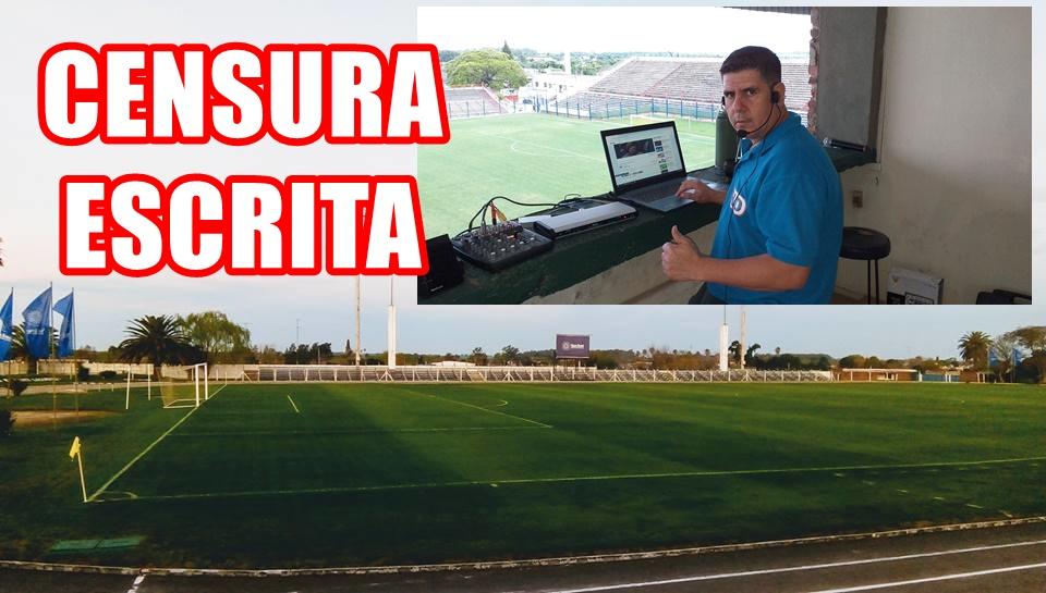 (Audio) ¡¡Se salieron con la suya!!, dirigentes de Ecilda Paullier censuraron a la prensa deportiva, y ahora dicen que no