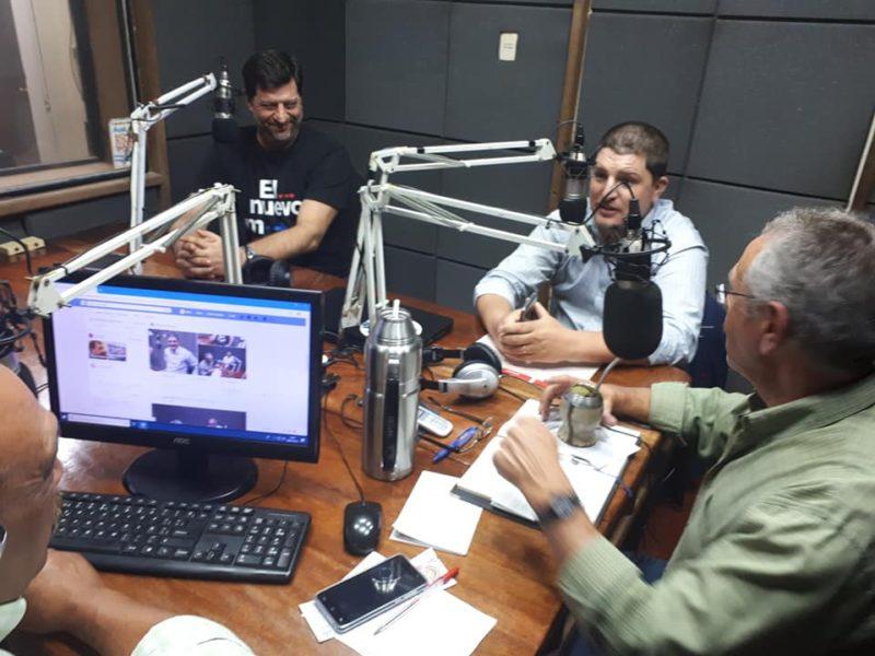 (AUDIO) Programa inaugural de «La Mesa de la Rivera» por radio Rivera