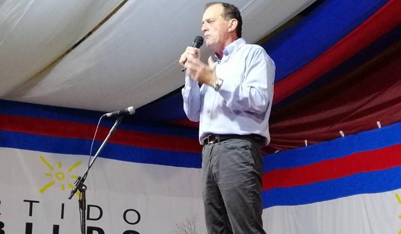 (Audios) Es ahora en Artigas donde Guido Manini Ríos va por la presidencia