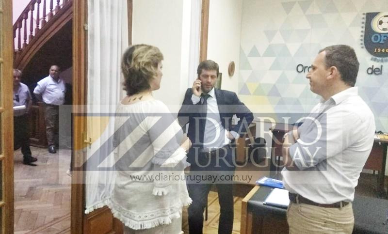 (Audio) Ariel Giorgi, por un instante: es el GPS del fútbol uruguayo