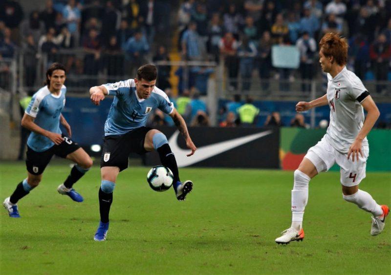 Uruguay 2 Japón 2: y la celeste rescató un empate de un partido casi perdido
