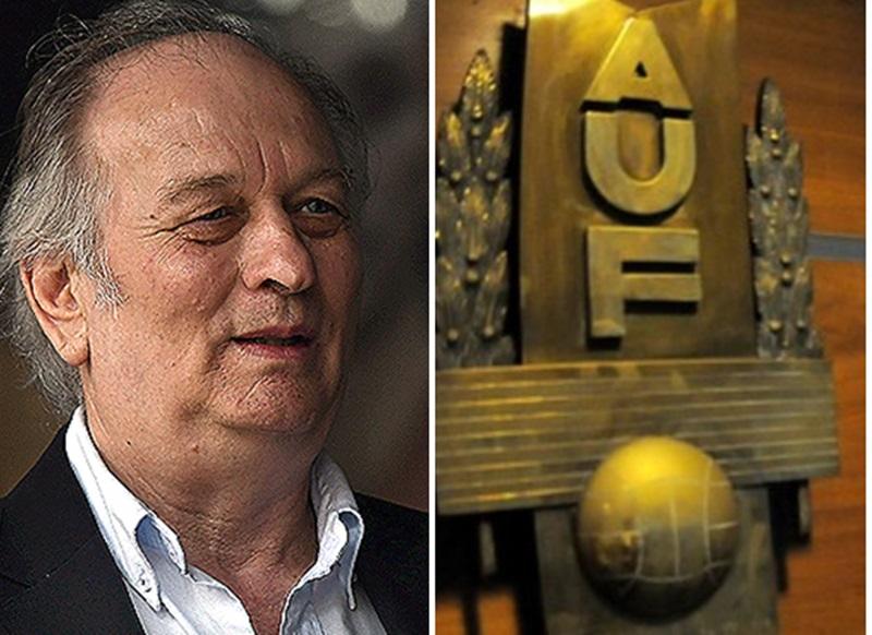 Con el presidente de la OFI a cara de perro: el contrato AUF TV, el divorcio con AIAF y el espionaje contra él