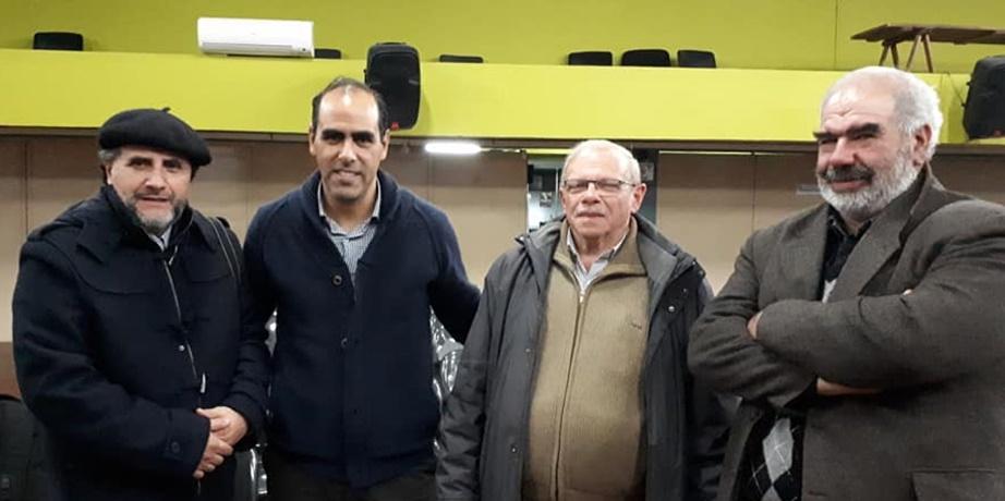 (Vídeos) El periodista que trabaja y escribe para los dos únicos diarios de Rivera, quedó enojado con la visita del Dr. Fernando Sosa
