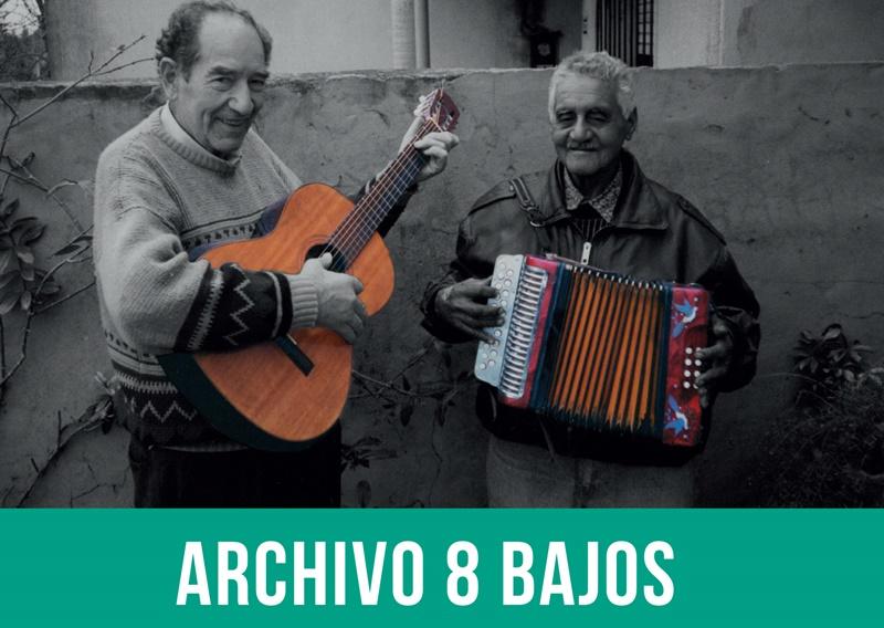 Sale libro y álbum:»Archivo 8 Bajos: Música de acordeón y bandoneón del interior de Uruguay»
