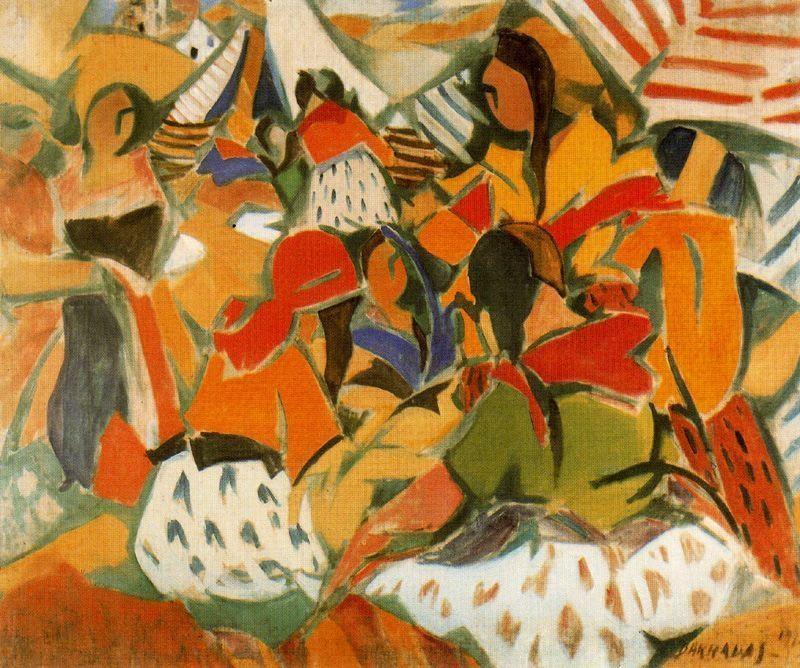 Barradas, es una de las figuras centrales de la pintura uruguaya