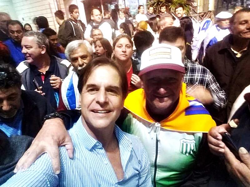 Luis en Rivera sin colores políticos: por y para el pueblo