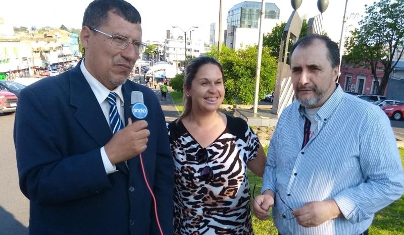 Ahora TV online entre medios y periodistas de Brasil y Uruguay desde la frontera de la paz