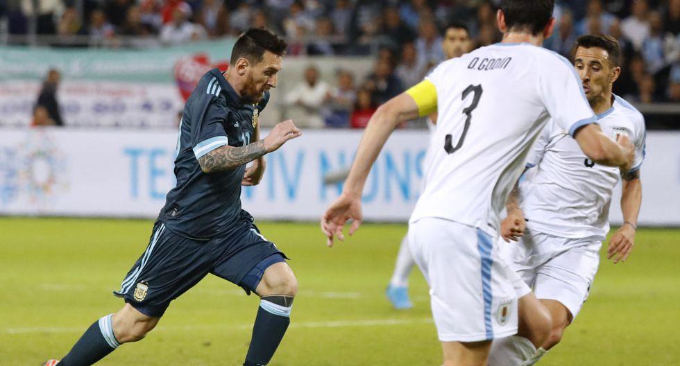 Argentina y Uruguay empataron 2-2 en un amistoso jugado en Israel, gracias al Maestro