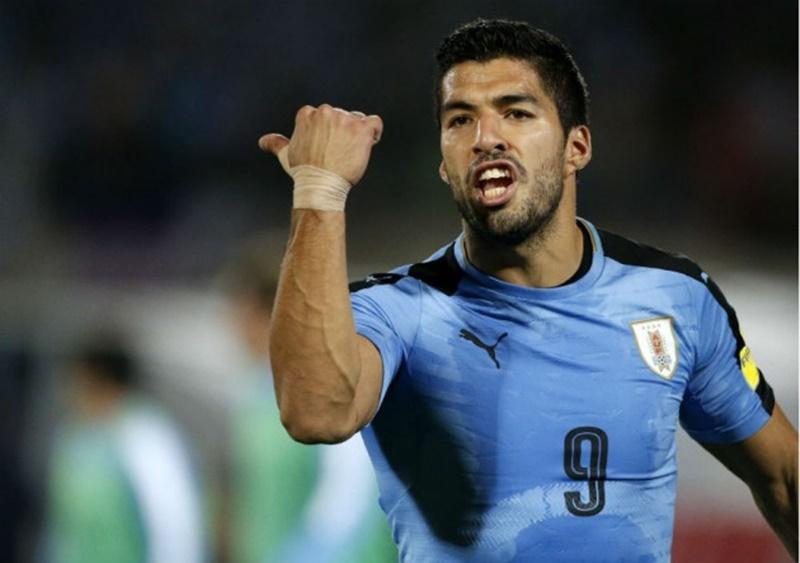 El salteño Luis Suárez, es el mayor goleador de cada país